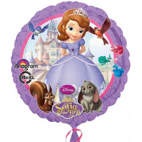 Ballon mylar Princesse Sofia 43 cm