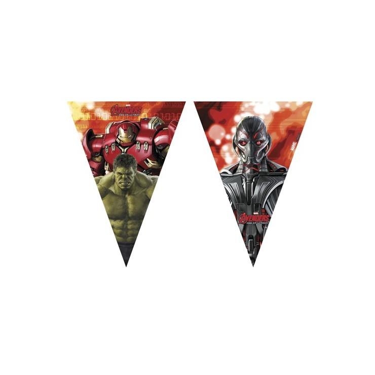 Guirlande fanions Avengers
