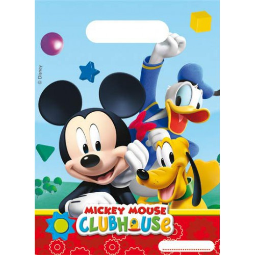 Sacs à cadeaux Mickey x6