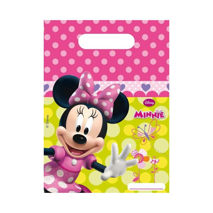Sacs à cadeaux Minnie x6
