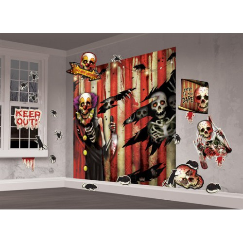 Kit deco creepy circus