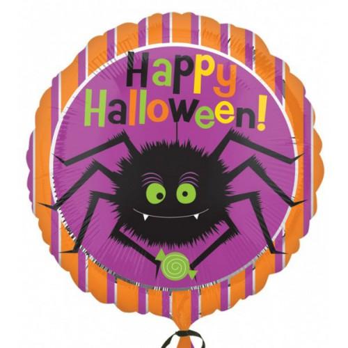 Ballon mylar araignée Halloween