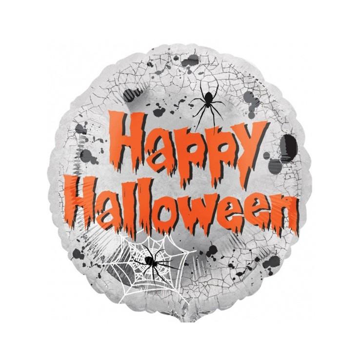 Ballon mylar miroir Halloween
