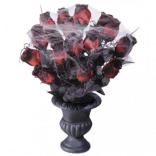 Vase Roses Halloween