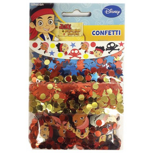 Confetti de table Jake et les pirates