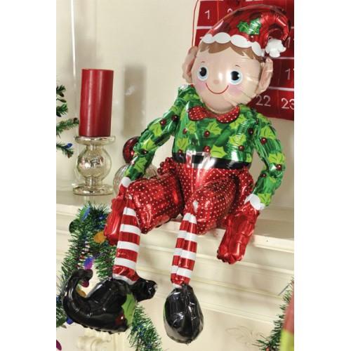Ballon mylar elfe assis 73 cm