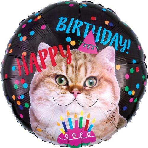 Ballon Happy Birthday Chat