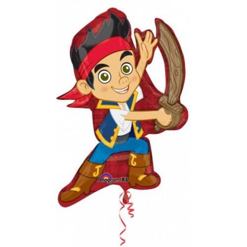 Ballon mylar Jake & les pirates 78 cm