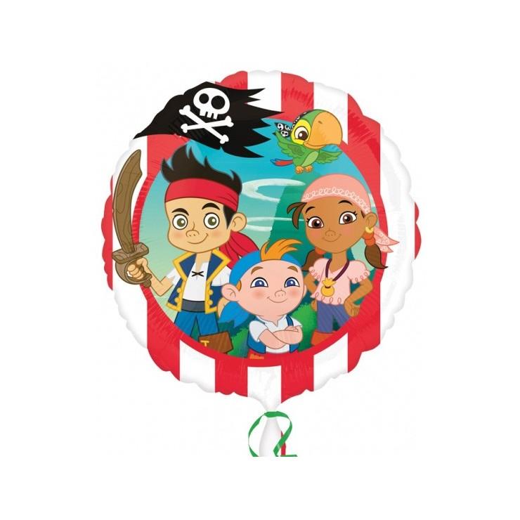 Ballon mylar Jake & les pirates 43 cm