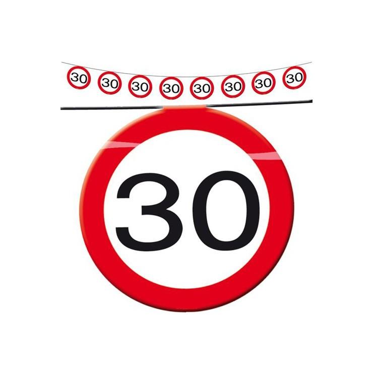 Guirlande limitation 30
