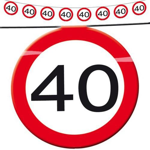 Guirlande limitation 40