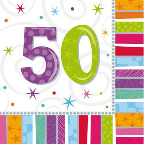 Serviettes 50