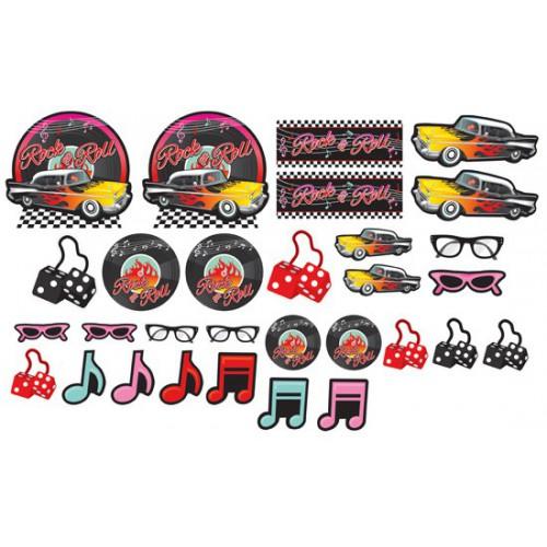 Découpages Rock & Roll 50's x30