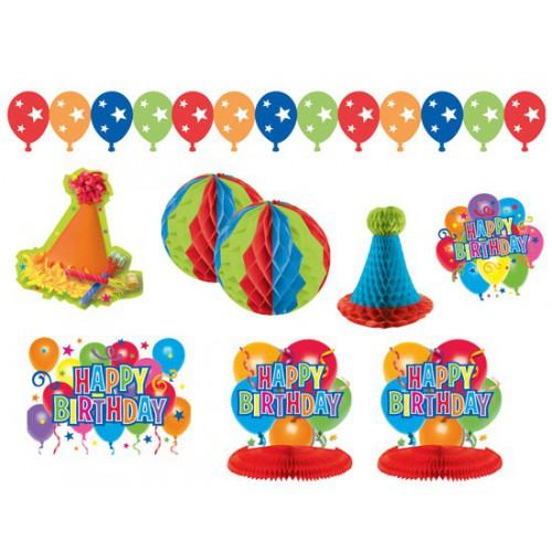 Kit deco Happy Birthday
