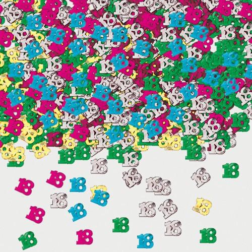 Confettis de table 18