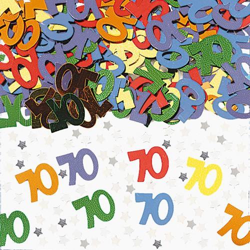 Confettis de table 70