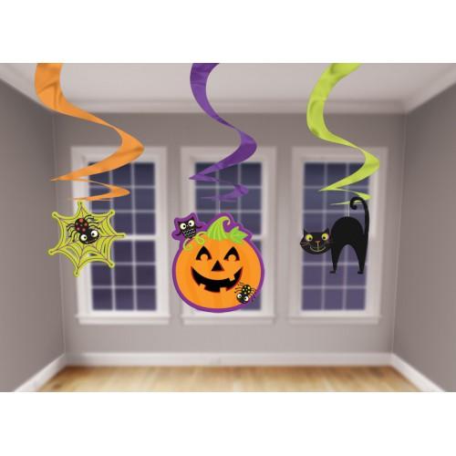 Suspensions Halloween kids