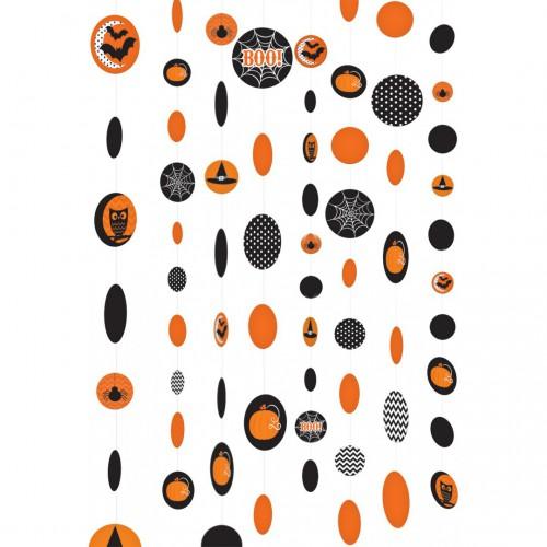 Suspensions ficelles Halloween x8