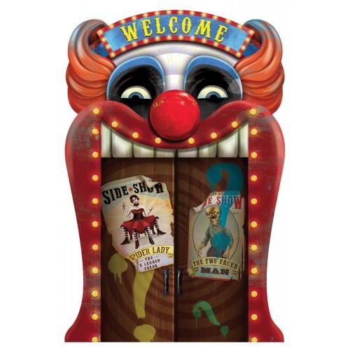 Deco holographique creepy circus