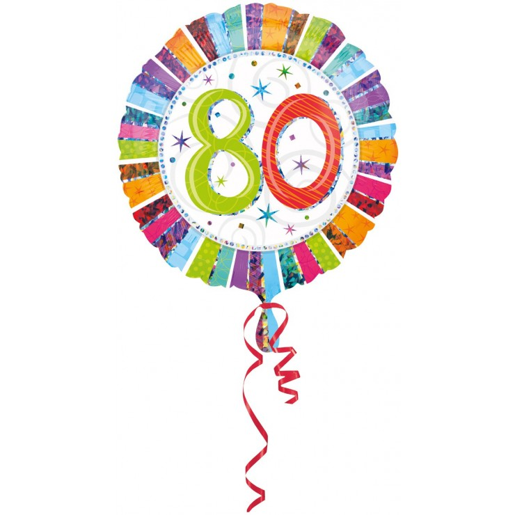 Ballon anniversaire 80