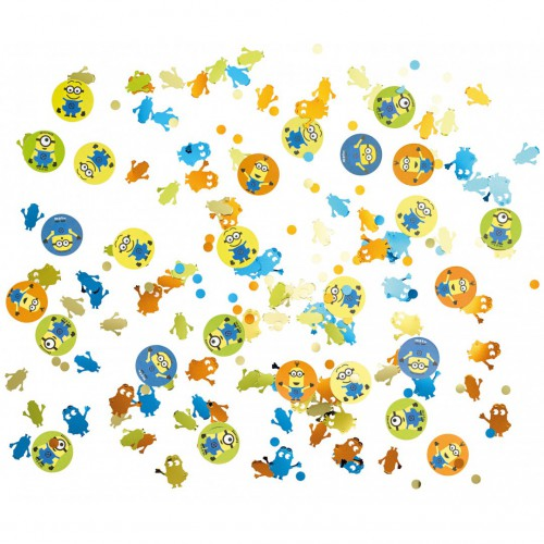 Confettis de table Minions