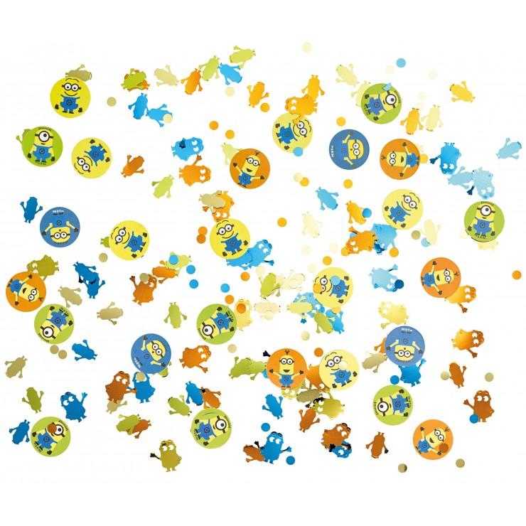 Confettis de table Minions
