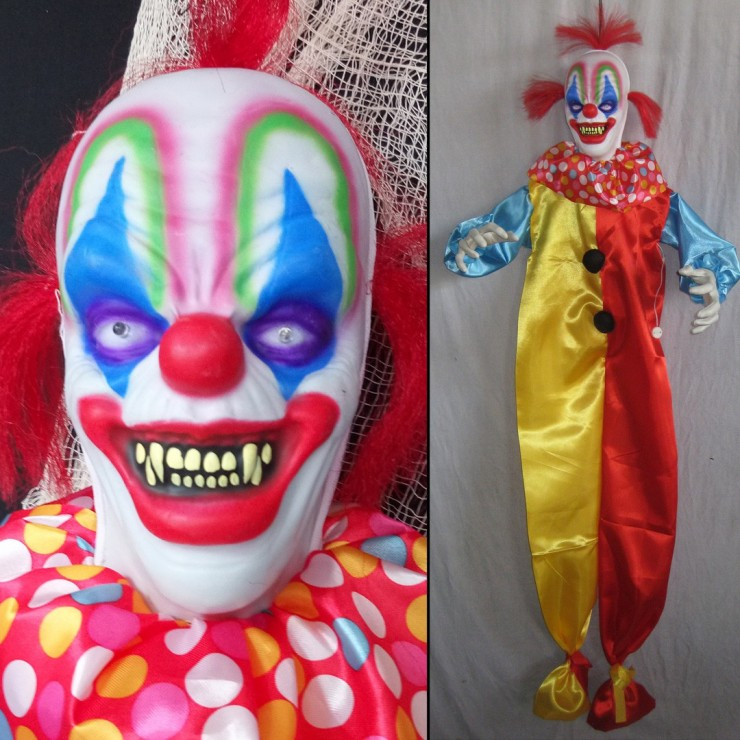 Horror Clown Moving 153 cm