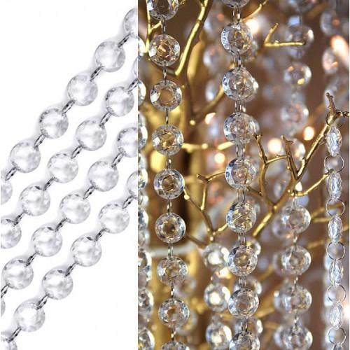 Guirlande cristal 1 m.