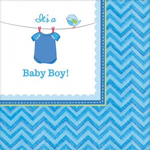 Serviettes It's a Baby Boy