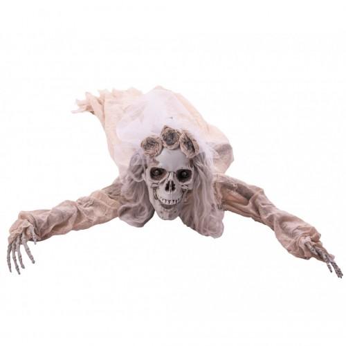 Mariée zombie animée