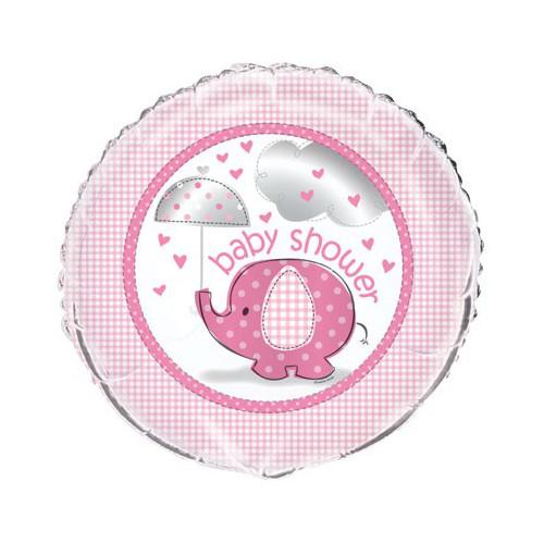 Ballon mylar Baby Shower fille 45,7 cm