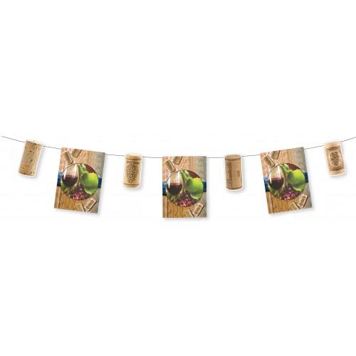 Guirlande fête des vendanges