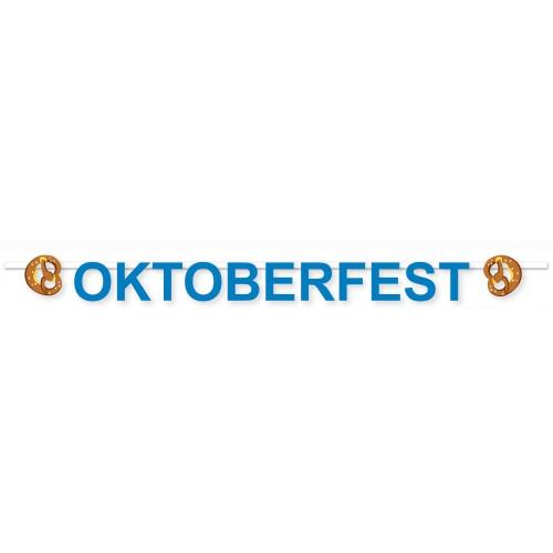 Guirlande Oktoberfest Bretzel 2m.