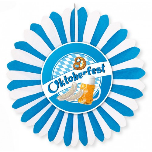Eventail deco Oktoberfest 60 cm