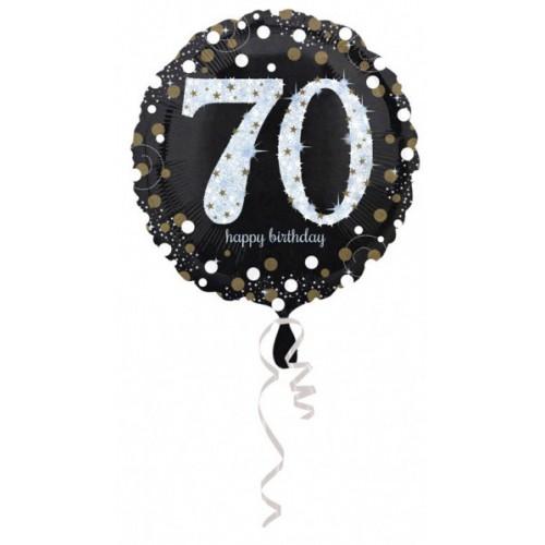 Ballon holographique 70 ans
