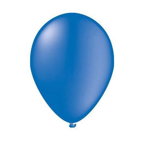 25 ballons bleus
