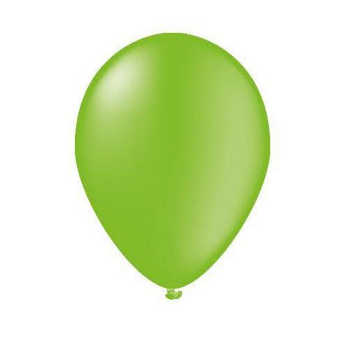 25 ballons vert pistache