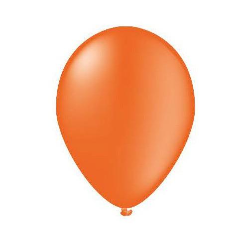 100 ballons orange