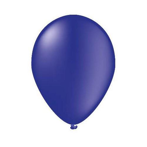 100 ballons bleu marine