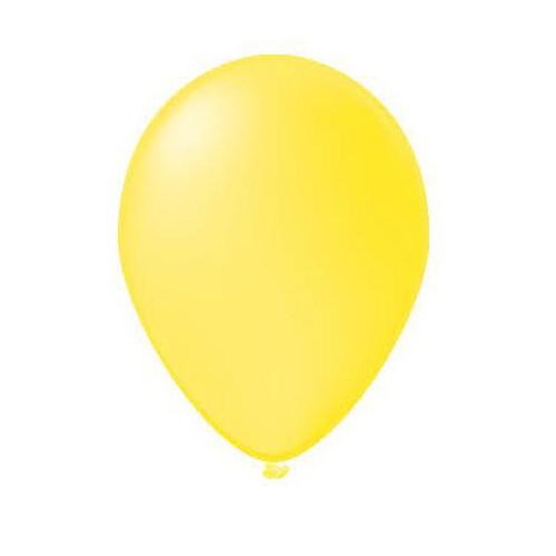 100 ballons vanille
