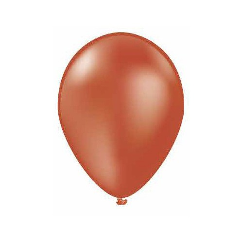 100 ballons cuivre