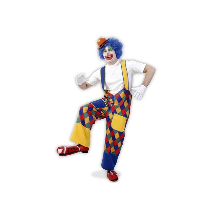 Salopette clown Chico