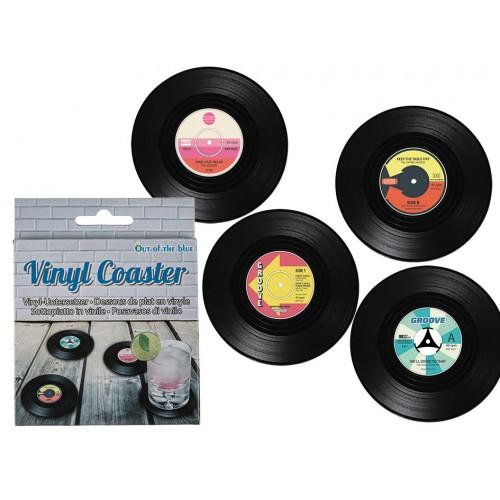 Dessous de verrre vinyle x4
