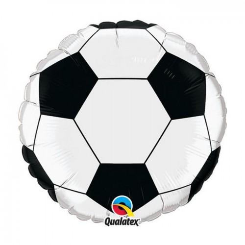 Ballon mylar balle de foot 45cm