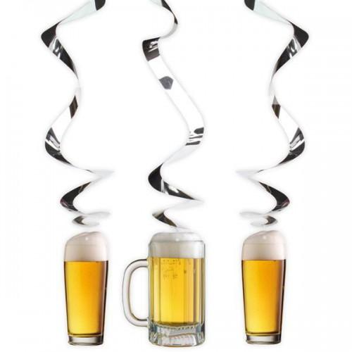 Suspensions spirales Fête de la bière