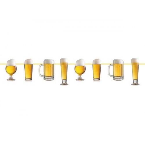 Guirlande bières 10m