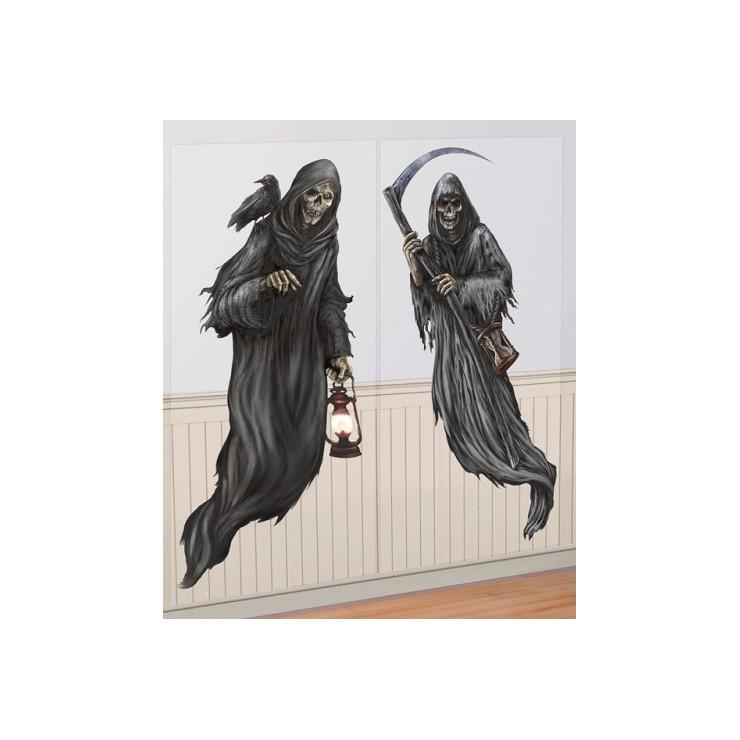 Deco murale La mort x2