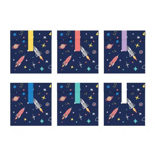 Sacs à friandises space adventure x6