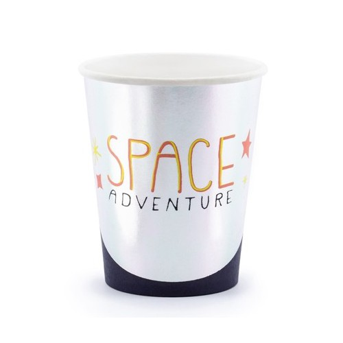 Gobelets space adventure x6