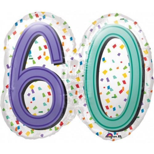 Ballon 60 ans 63cm